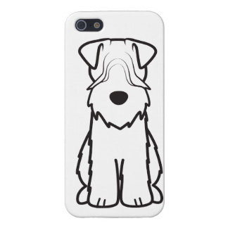 Soft Coated Wheaten Terrier Dog Cartoon iPhone SE/5/5s Case