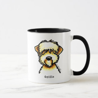 Soft Coated Wheaten Terrier Face Personalized Mug