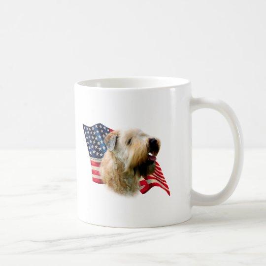 Soft Coated Wheaten Terrier Flag Coffee Mug