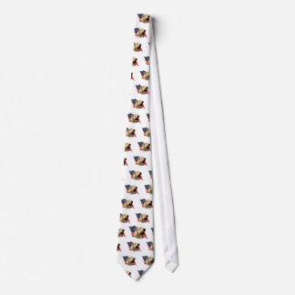 Soft Coated Wheaten Terrier Flag Tie