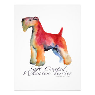 Soft Coated Wheaten Terrier Personalized Flyer