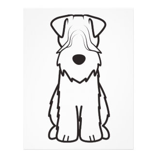 Soft Coated Wheaten Terrier Flyer
