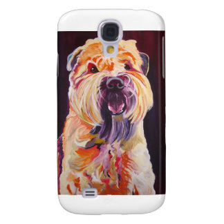 Soft Coated Wheaten Terrier Galaxy S4 Cases