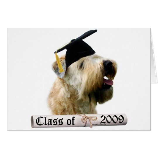 Soft Coated Wheaten Terrier Grad 09 Card