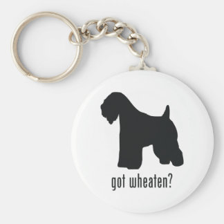 Soft-Coated Wheaten Terrier Keychain