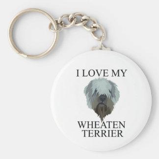 SOFT COATED WHEATEN TERRIER Love! Keychain