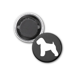 Soft Coated Wheaten Terrier 1 Inch Round Magnet