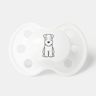Soft Coated Wheaten Terrier Pacifier