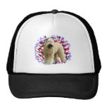 Soft Coated Wheaten Terrier Patriot Mesh Hats