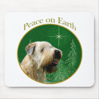 Soft Coated Wheaten Terrier Peace Mouse Pad