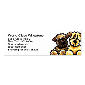 Soft Coated Wheaten Terrier Pet Business Cards
