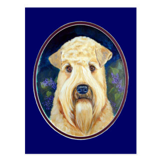 Soft Coated Wheaten Terrier Postcards