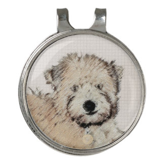 Soft Coated Wheaten Terrier Puppy Golf Hat Clip
