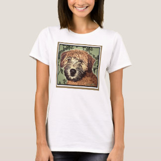 Soft-Coated Wheaten Terrier Puppy with Wet Face T-Shirt