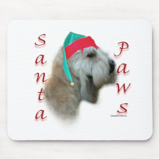 Soft Coated Wheaten Terrier Santa Paws Mouse Pad