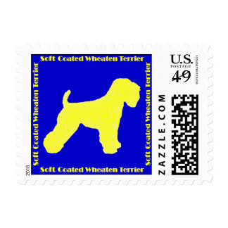 Soft Coated Wheaten Terrier Stamp