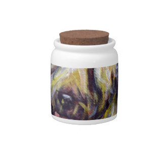 Soft Coated Wheaten Terrier Stars Candy Jars