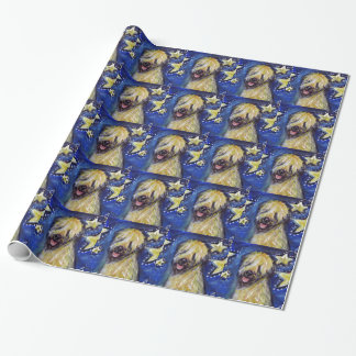 Soft Coated Wheaten Terrier Stars Wrapping Paper