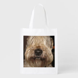 soft coated wheaton terrier.png market tote