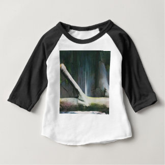 Soft Color Driftwood by Waterfall Baby T-Shirt