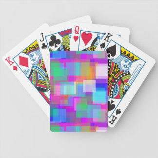 Soft Color Mesh Bicycle Card Deck