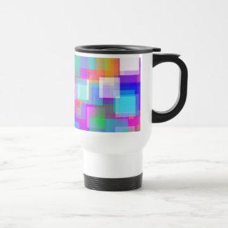 Soft Color Mesh 15 Oz Stainless Steel Travel Mug