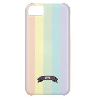 Soft Color Stripe Pattern iPhone 5 Case