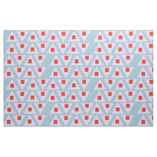 soft colored light orchid pink red triangle 2 fabric