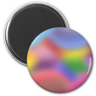 Soft Colors: 2 Inch Round Magnet