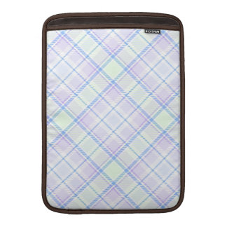 Soft Colors Plaid Sleeves For MacBook Air