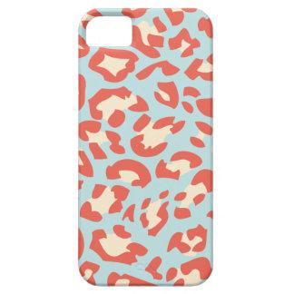 Soft Colour Leopard fur Pattern iPhone 5 Case