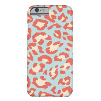 Soft Colour Leopard fur Pattern iPhone 6 case
