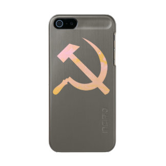 Soft Communism Metallic Phone Case For iPhone SE/5/5s