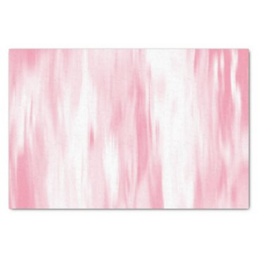 Beach Themed Soft Coral White Abstract Tissue Paper