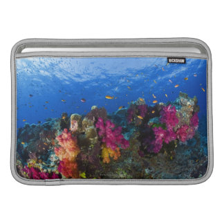 Soft corals on shallow reef, Fiji MacBook Air Sleeves