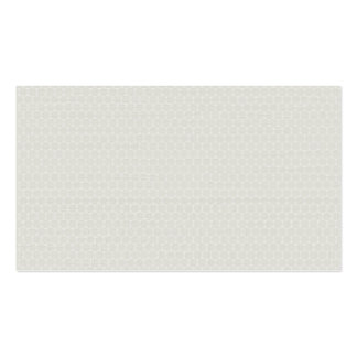 Soft Cream Honeycomb Pattern Business Card