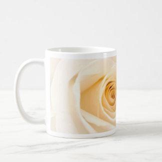 Soft Cream Rose Classic White Coffee Mug