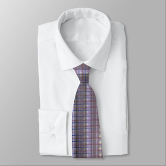 Soft Cutting Purple 28 - Abstract Design - Tie