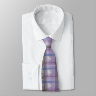 Soft Cutting Purple 31 - Abstract Design - Tie