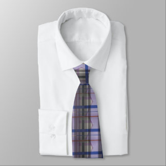 Soft Cutting Purple 32 - Abstract Design - Tie