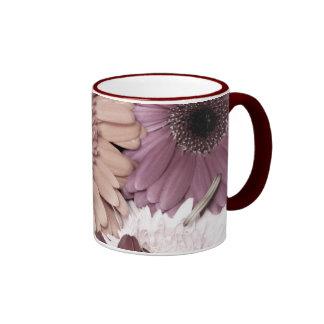 Soft Daisies Ringer Mug