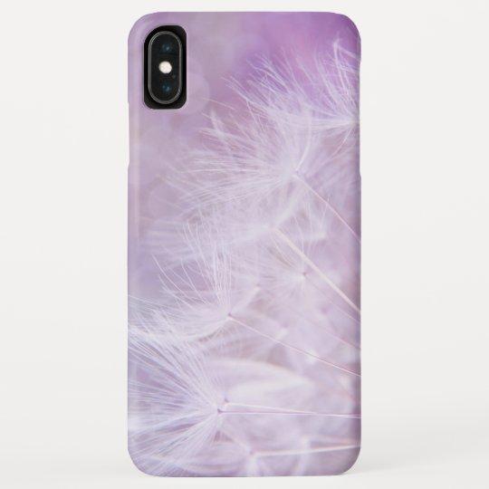 Soft Dandelion Seeds On Purple Background Case Mate Iphone Case