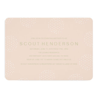 SOFT DOT BABY SHOWER CARD