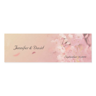Soft Dream Thank You Wedding Favor Tag Double-Sided Mini Business Cards (Pack Of 20)