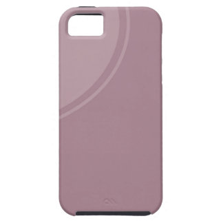 Soft dusty mauve iPhone SE/5/5s case