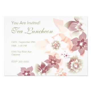 Soft Fall Flowers - Invite - 1