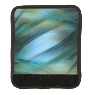 Soft Feathered Lights Abstract Luggage Handle Wrap