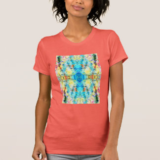 Soft Floral Abstract T Shirt