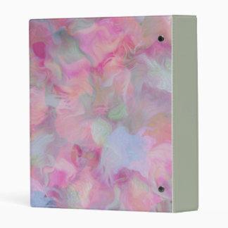 Soft Floral Mini Binder