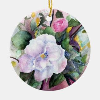 soft floral ornament